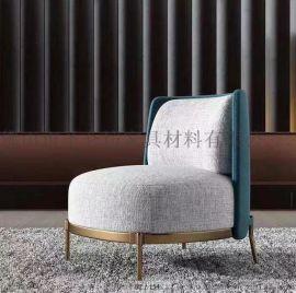 亚麻布 沙发针织染色面料 工程材料布艺