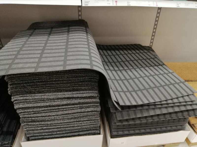 针刺无纺布地毯 无纺布毛毯