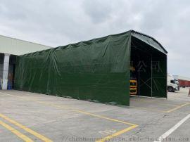 佛山南海推拉雨棚大型移动帐篷 活动式推拉雨篷优点