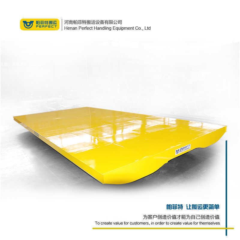 汽車用塑膠製品轉運臺車 蓄電池鋼輪軌道運輸小車定製