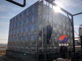盐城金泽304不锈钢水箱高层消防供水