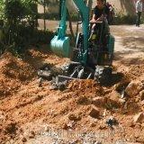 中小型挖掘机 挖掘机油锤工作原理 六九重工lj 绿