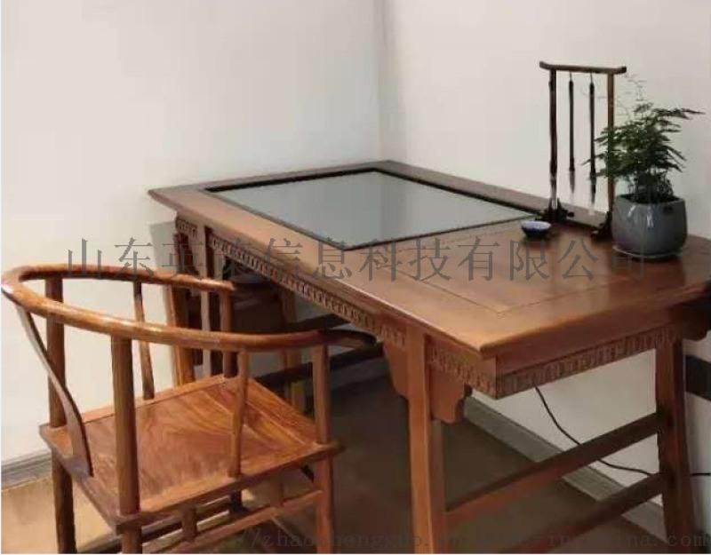 临摹书法桌,图书馆书法体验桌供应商,校园书法桌厂家