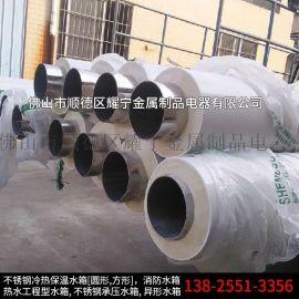 304不锈钢保温管 复合发泡保温管 一体成型代加工
