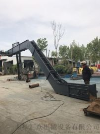 刮板送料机 刮板机型号 六九重工 煤渣刮板输送机