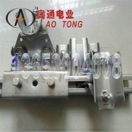 奥通电业C30吊门小滑轮不锈钢移动推拉小车