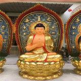 銅雕西方三聖廠家,浙江鑄銅佛像生產廠家