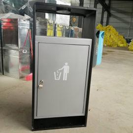 河南垃圾桶户外单桶|分类果皮箱报价|环保垃圾箱厂