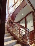 铝雕厂家 铝雕楼梯护栏 专注定制二十年