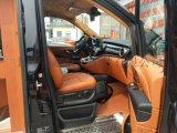 上海奔驰V260汽车内饰改装 航空座椅 实木地板