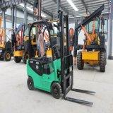 四轮电动叉车 1.5吨座驾式全电动堆高车 四轮电动叉车