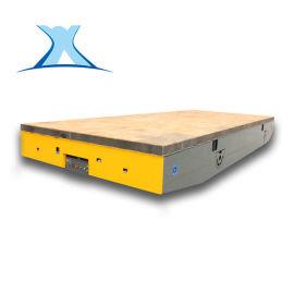 槽钢运输运材料电动车 直流轮式遥控平板车