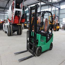 环保电动叉车 1.5吨座驾电动堆高车 四轮平衡重叉车