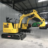山东圣时园林栽培小型挖掘机厂家 多功能履带式小挖机