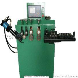 U槽V槽扁铁卡箍自动卷圆成型机 桶箍打圈机