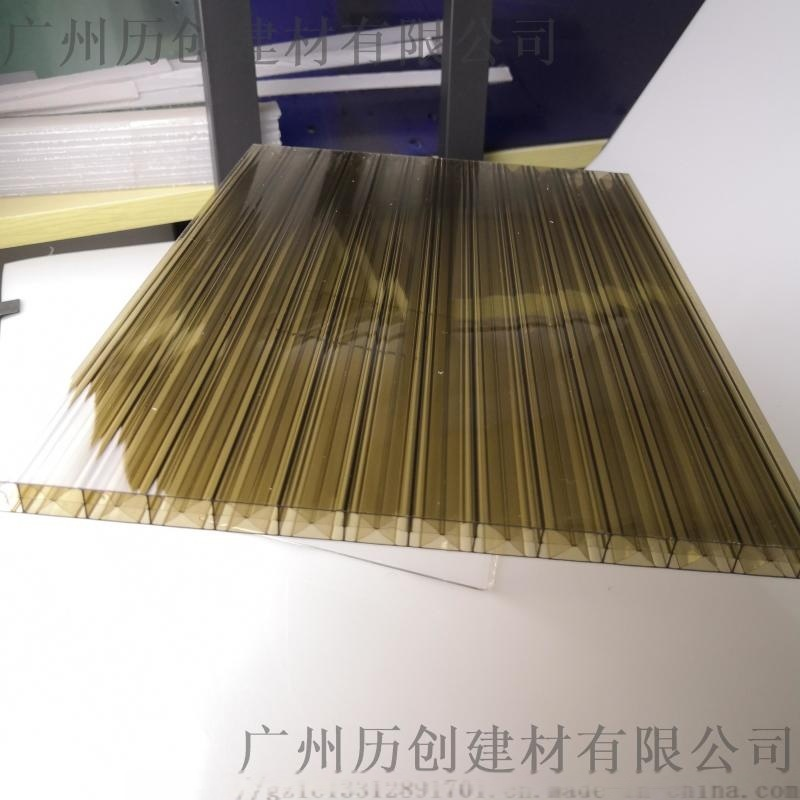 山東太原 8mmpc米字格陽光板  阻燃廠家直銷