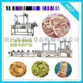 花生饼机 油糍粑机 油炸瓜片机正规厂家专利产品