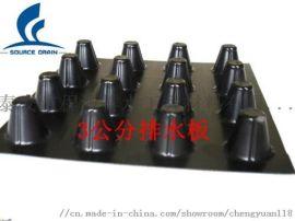 聚乙烯排水板&排水板型号&滤水板(大图)