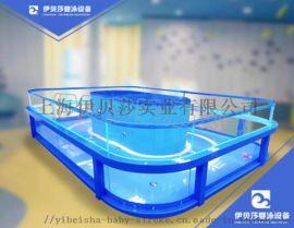 浙江台州全透明恒温婴儿玻璃泳池