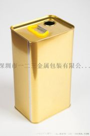油罐彩印食用油方罐大米铁罐厂家加工定制款式多样