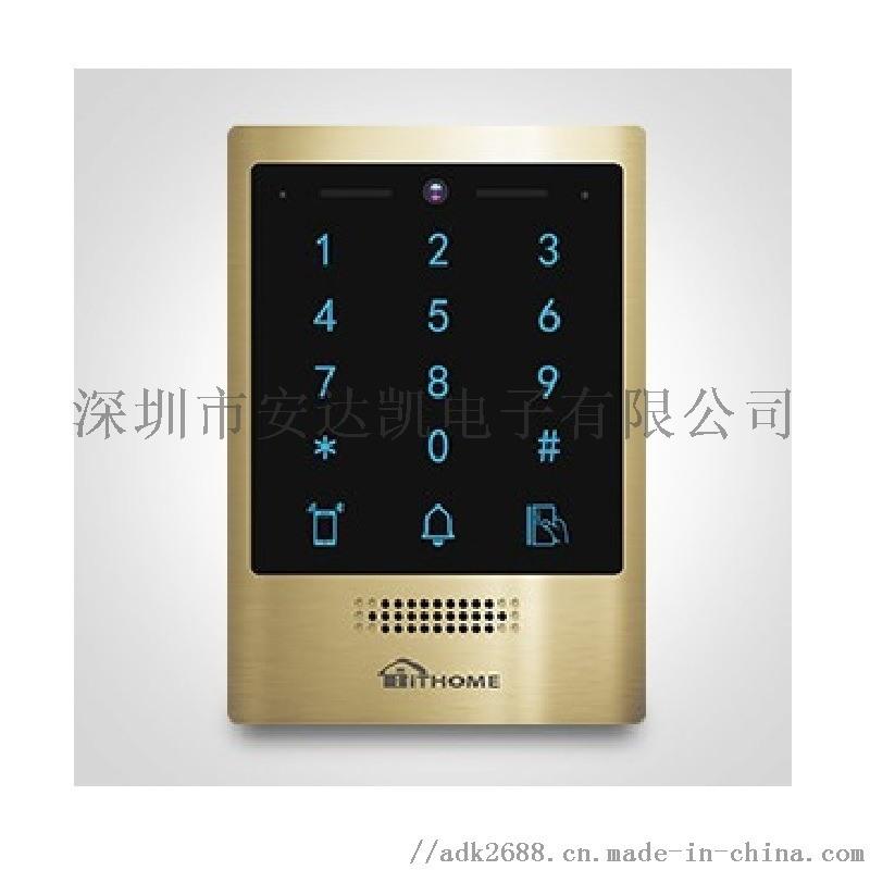 天津東麗小區對講 數位對講21寸廣告屏 小區對講功能