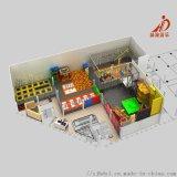 淘氣堡兒童樂園 室內淘氣堡 蹦牀公園 淘氣堡廠家