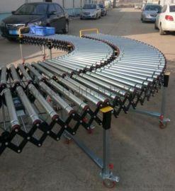 动力滚筒伸缩线动力伸缩滚筒输送机