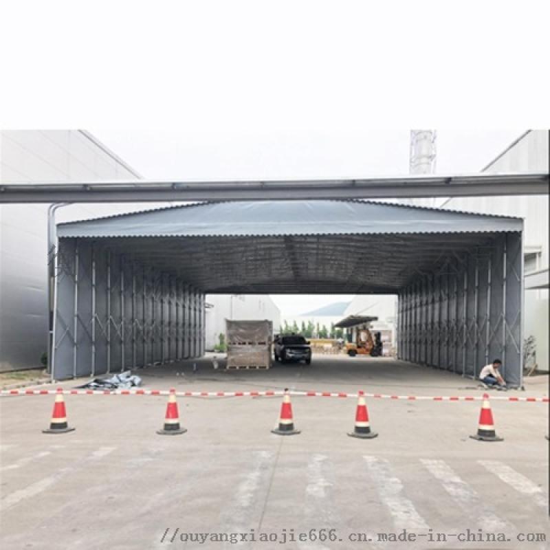 定制活动棚移动雨蓬物流仓储蓬伸缩帐篷停车棚