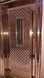 KTV包厢门,欧式不锈钢压花门板,佛山不锈钢门厂
