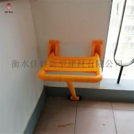佳睿走廊休息凳 可折叠楼道转角老人爱心休息座椅厂家