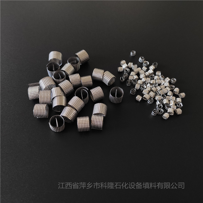 精馏塔填料用θ形环填料 不锈钢西塔环 不锈钢丝网环
