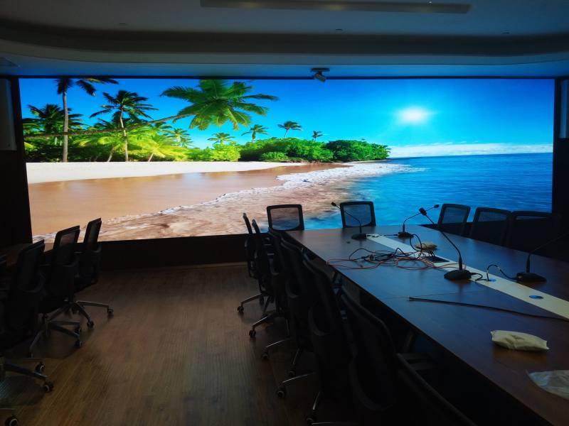 會議室P1.  屏,高清4K會議P1.8LED屏