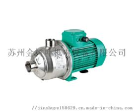 德国WILO/威乐水泵MHI不锈钢卧式多级离心泵