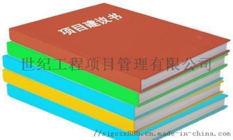 可行性研究報告代寫_項目建議書代寫_項目申請報告代