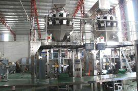 广东盛威机械多种物料混合翻领电子秤立式包装一体机械