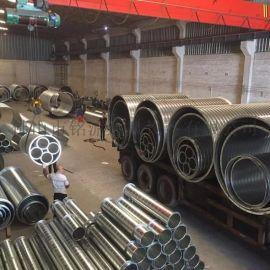 佛山铭流风管厂家直销DN900不锈钢螺旋风管
