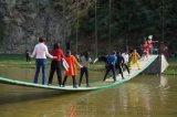 水上搖擺橋定製互動遊戲道具