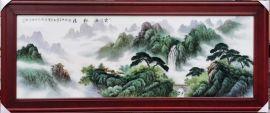 景德镇手绘瓷板画 瓷板画图片 现代家居装饰瓷板画
