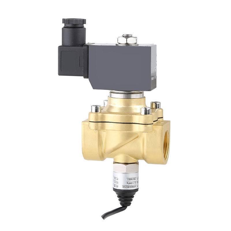 进口黄铜带信号反馈电磁阀-远程反馈开关-PLC
