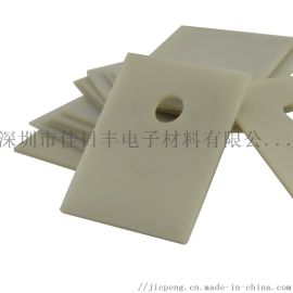 现货TO-3P氮化铝陶瓷片 MOS管高导热绝缘片