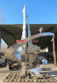 校园不锈钢雕塑   景观不锈钢雕塑 校园标志雕像