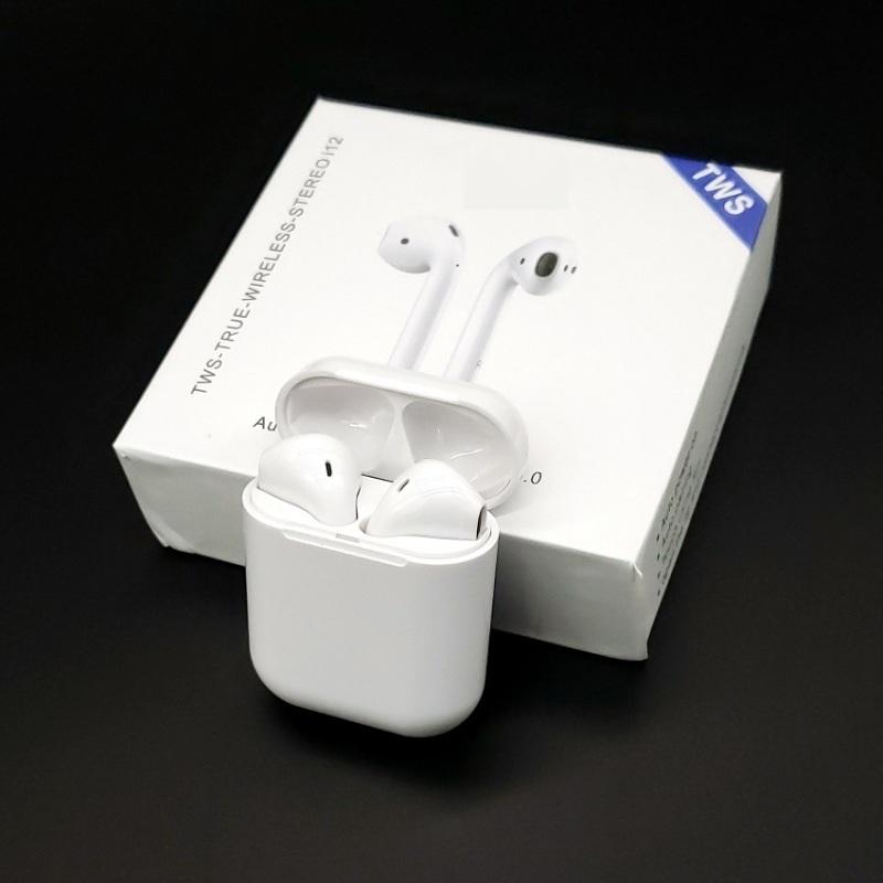 tws无线蓝牙耳机 i12指纹触摸 弹窗 高清音质