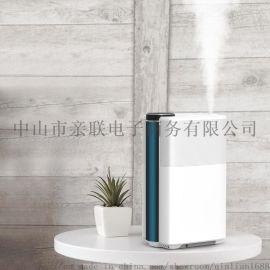 加湿器家用静音 卧室 定时银离子抑菌上加水加湿器