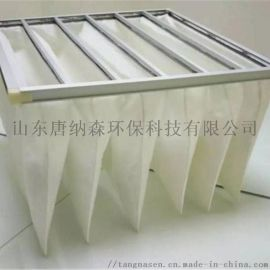 袋式空气过滤网阻力小、容尘量高、可重复清洁使用