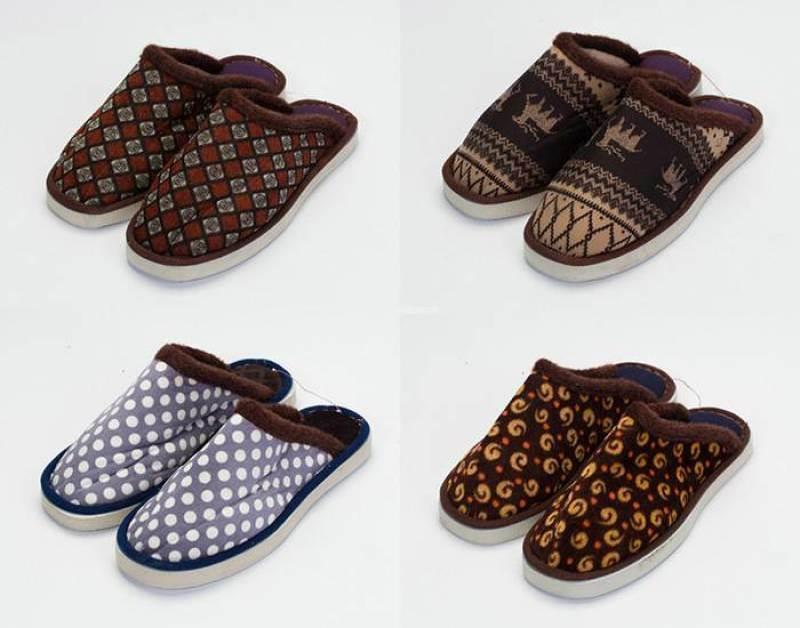 10元一双模式跑江湖摆地摊冬季室内居家棉拖鞋价格