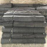 黑色土工布公路养护毯路面桥梁工程养护保湿布包装毛毡