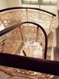 舒适的生活空间是不能缺少别墅楼梯护栏装饰的一部分