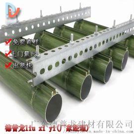 旅游区竹子铝型材圆管 外立面箭竹60铝圆管装饰