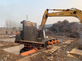 江阴环保型液压压块机厂家、铁棒打包机800吨