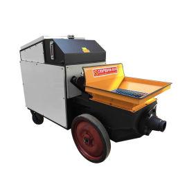 生产**混凝土输送泵室内上料二次构造注浇灌泵